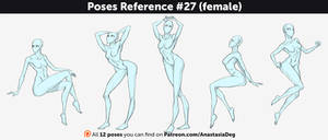 Poses Reference #27 (female)
