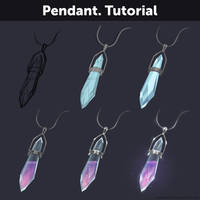 Pendant. Tutorial by Anastasia-berry