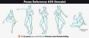 Poses Reference #29 (female)