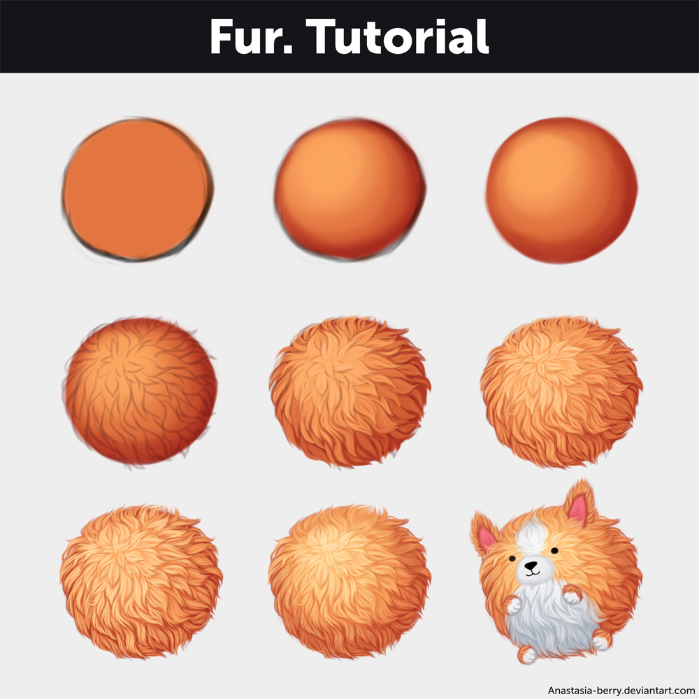 Fur. Tutorial by Anastasia-berry