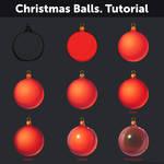 Christmas Balls. Tutorial