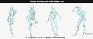 Poses Reference #36 (female)
