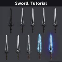 Sword. Tutorial by Anastasia-berry
