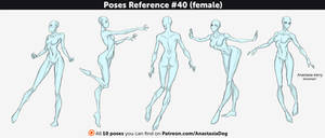 Poses Reference #40 (female)