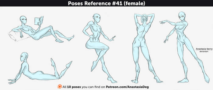 Poses Reference #41 (female)