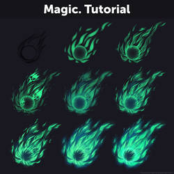Magic. Tutorial by Anastasia-berry