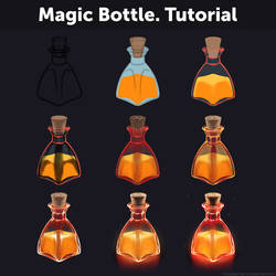Magic Bottle. Tutorial