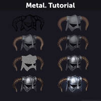 Metal. Tutorial by Anastasia-berry