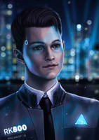 Connor   Detroit: Become Human by Anastasia-berry