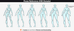 Poses Reference #48 (female)