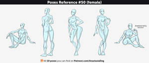 Poses Reference #50 (female)