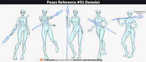 Poses Reference #51 (female)