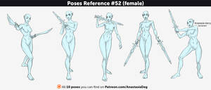 Poses Reference #52 (female)