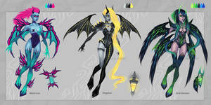 Adopt Batch - Toxic Demons - [CLOSED] by Anastasia-berry