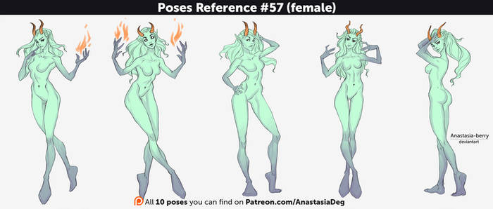 Poses Reference #57 (female)
