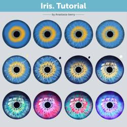 Iris. Tutorial by Anastasia-berry