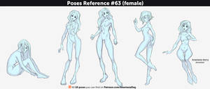 Poses Reference #63 (female) by Anastasia-berry