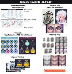 January Rewards! by Anastasia-berry