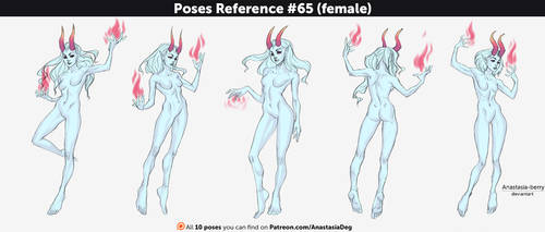 Poses Reference #65 (female) by Anastasia-berry