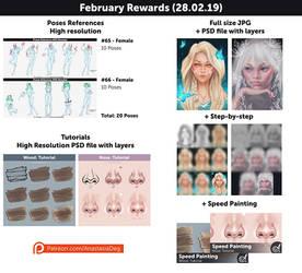 February Rewards! by Anastasia-berry