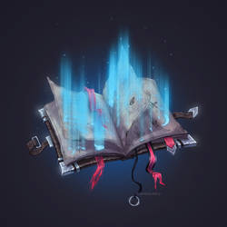 Commission - Magic Book by Anastasia-berry