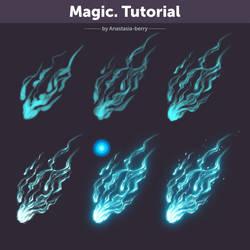 Magic. Tutorial by Anastasia-berry