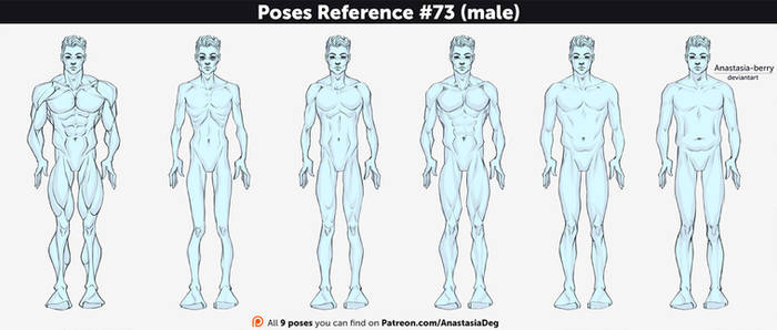 Poses Reference #73 (male)