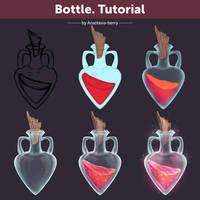 Bottle. Tutorial by Anastasia-berry