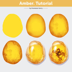 Amber. Tutorial by Anastasia-berry