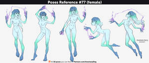 Poses Reference #77 (female)
