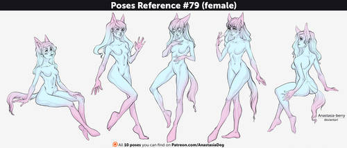 Poses Reference #79 (female)