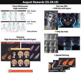 August Rewards!