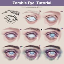 Zombie Eye. Tutorial by Anastasia-berry