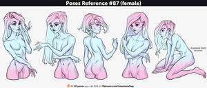 Poses Reference #87 (female)