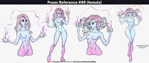 Poses Reference #89 (female)