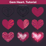 Gem Heart. Tutorial