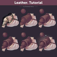 Leather. Tutorial