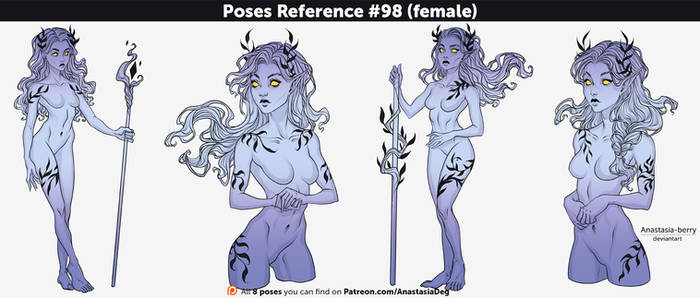 Poses Reference #98 (female)
