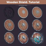 Wooden Shield. Tutorial | How To Draw