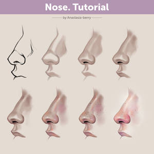 Nose. Tutorial | How To Draw