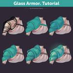 Glass Armor. Tutorial | How To Draw