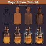 Magic Potion. Tutorial