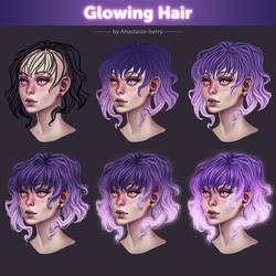 Glowing Hair 1. Tutorial