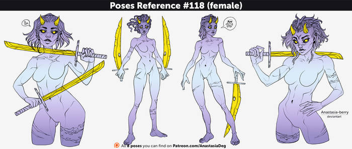 Poses References #118 (female)