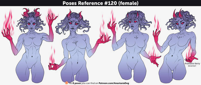 Poses References #120 (female)