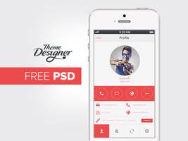 Mobile UI Design PSD by NiravJoshi