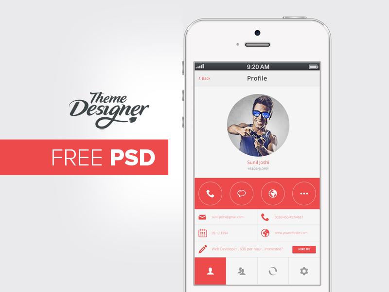 Mobile Ui Design Psd By Niravjoshi On Deviantart