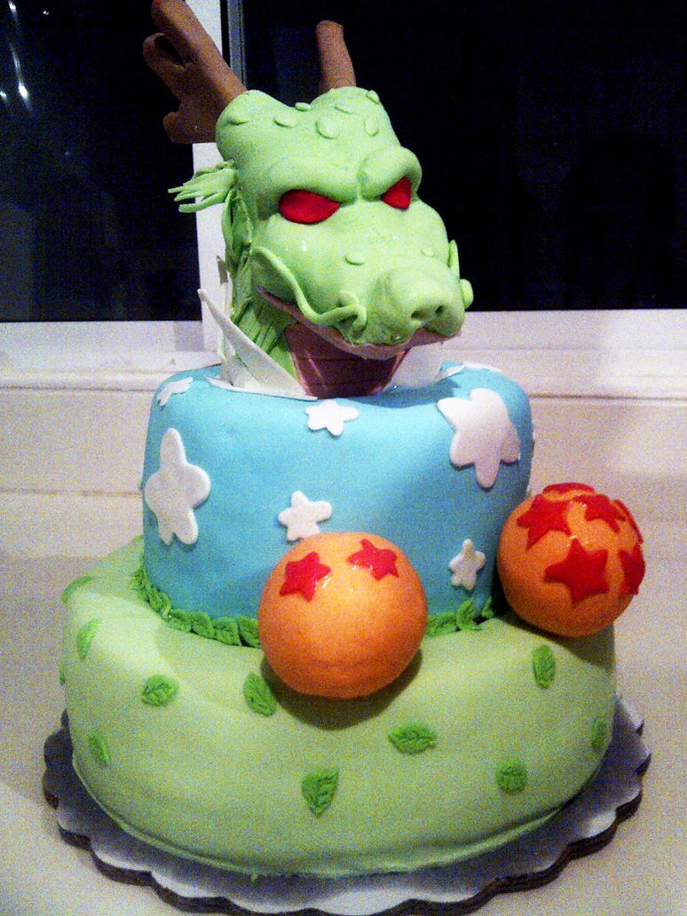 dragon ball z birthday cake images