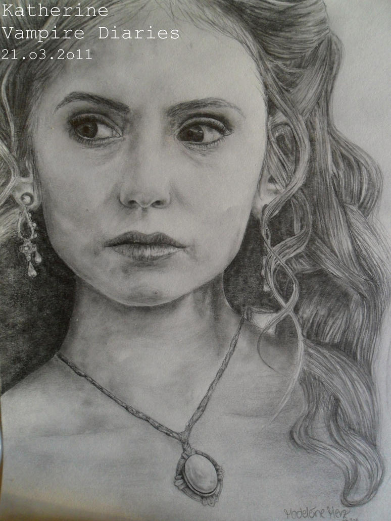 Katherine. The Vampire Diaries by 1drawingGirl