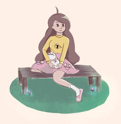 bee and puppycat by ceiraii